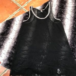Free People lace layering tank! Super cute! Sexy!